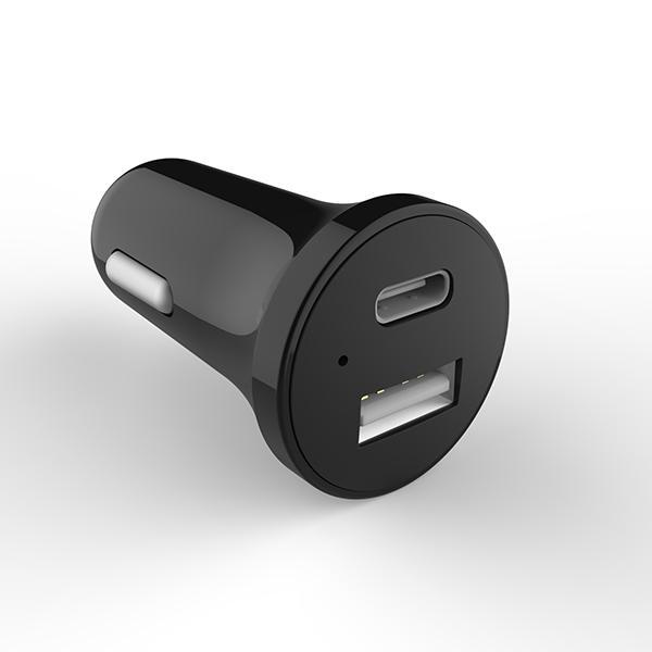 USB-C Dual Port Car Charger