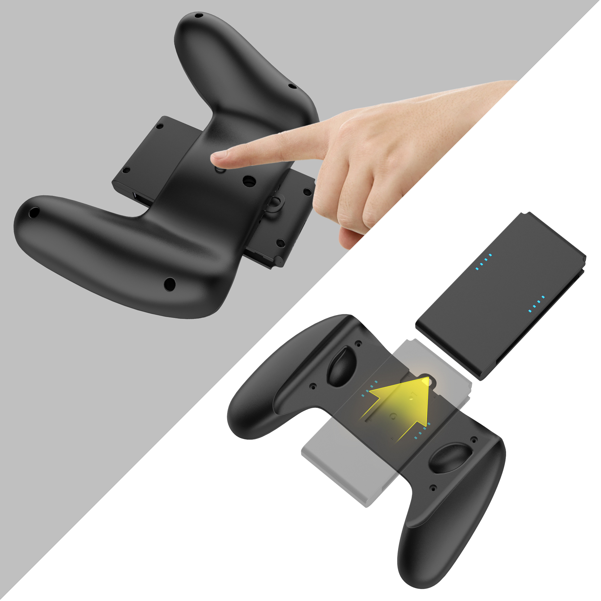 3in1 JOYCON Grip for Nintendo Switch