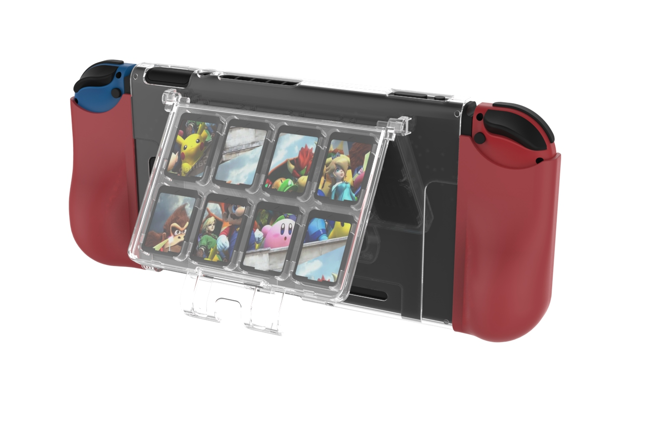 Nintendo Switch TPU+PC with game card case